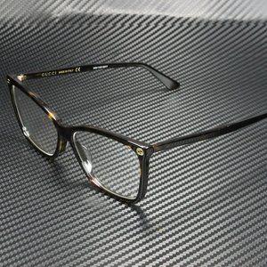Sale! Gucci Round Havana 56mm Eyeglasses